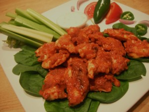 Guiltless Boneless Buffalo Wings