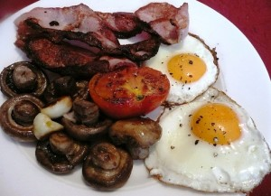 Hearty and Healthy Irish Breakfast