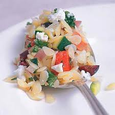 Healthy Greek Orzo Salad