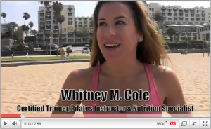 Fitness and Nutrition Expert Whitney on Youtube