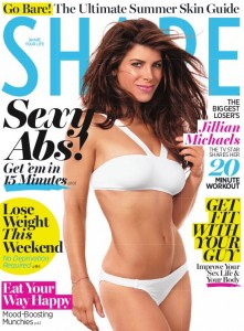 May 2011 Shape Magazine Cover - Jillian Michaels