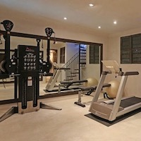 Home gym design layout in los angeles ca fitness and fuel