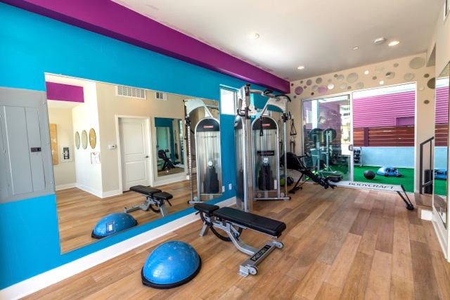 Private personal training gyms in marina del