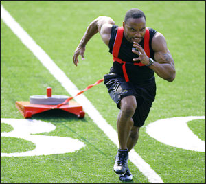 Train Like an Athlete to Look Like an Athlete - Sled Pull - Combine Event