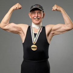 93 year old bodybuilder Dr. Charles Eugster