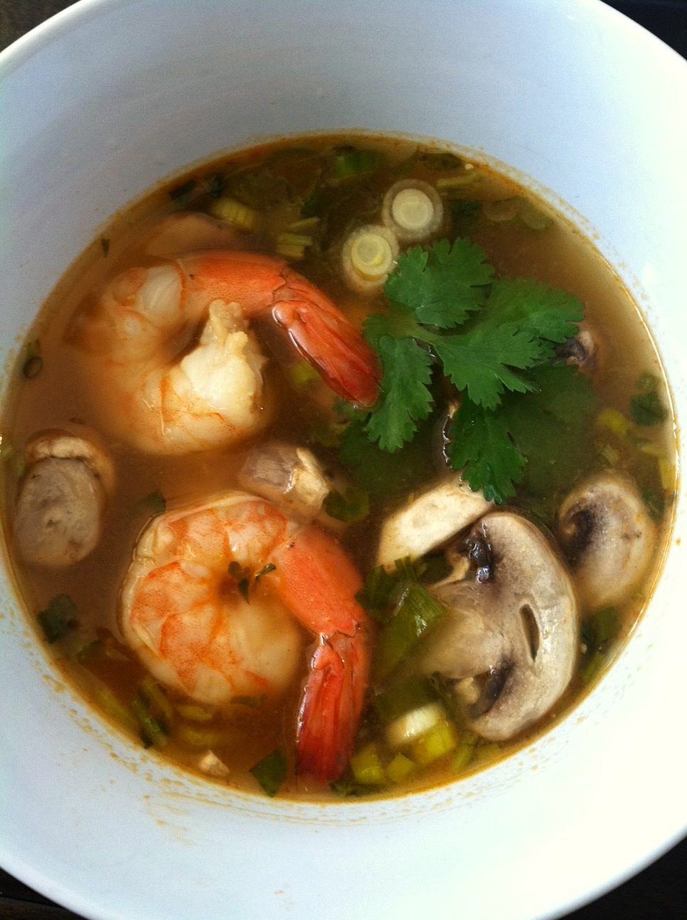Tom Yum Goon Soup - Low Sodium High Protein High Fiber