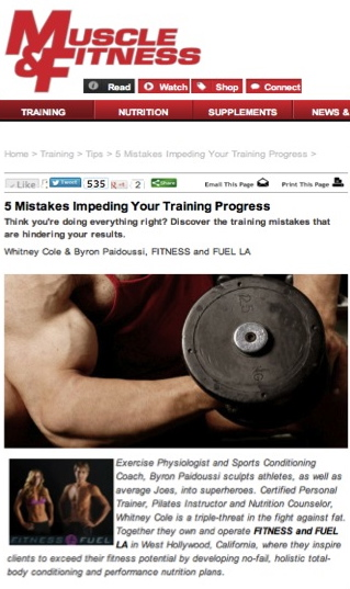 5 Mistakes Impeding Your Progress in the Gym