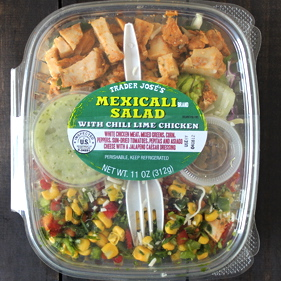 Trader Joe's Mexicali salad