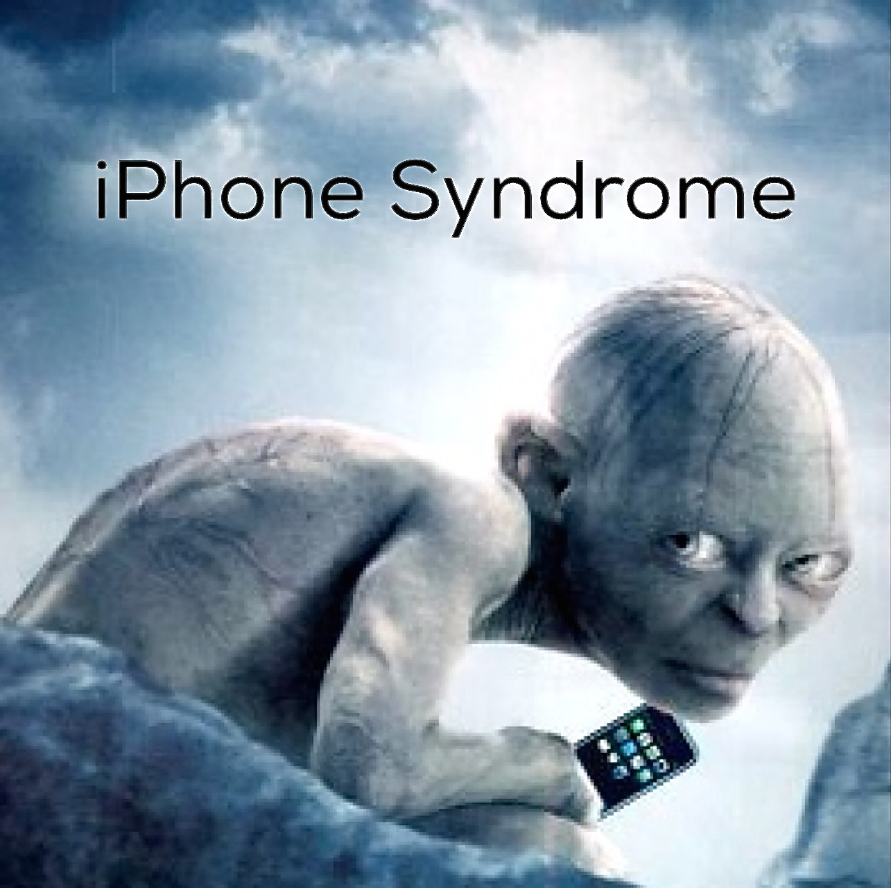 iPhone Syndrome - Posture Epidemic