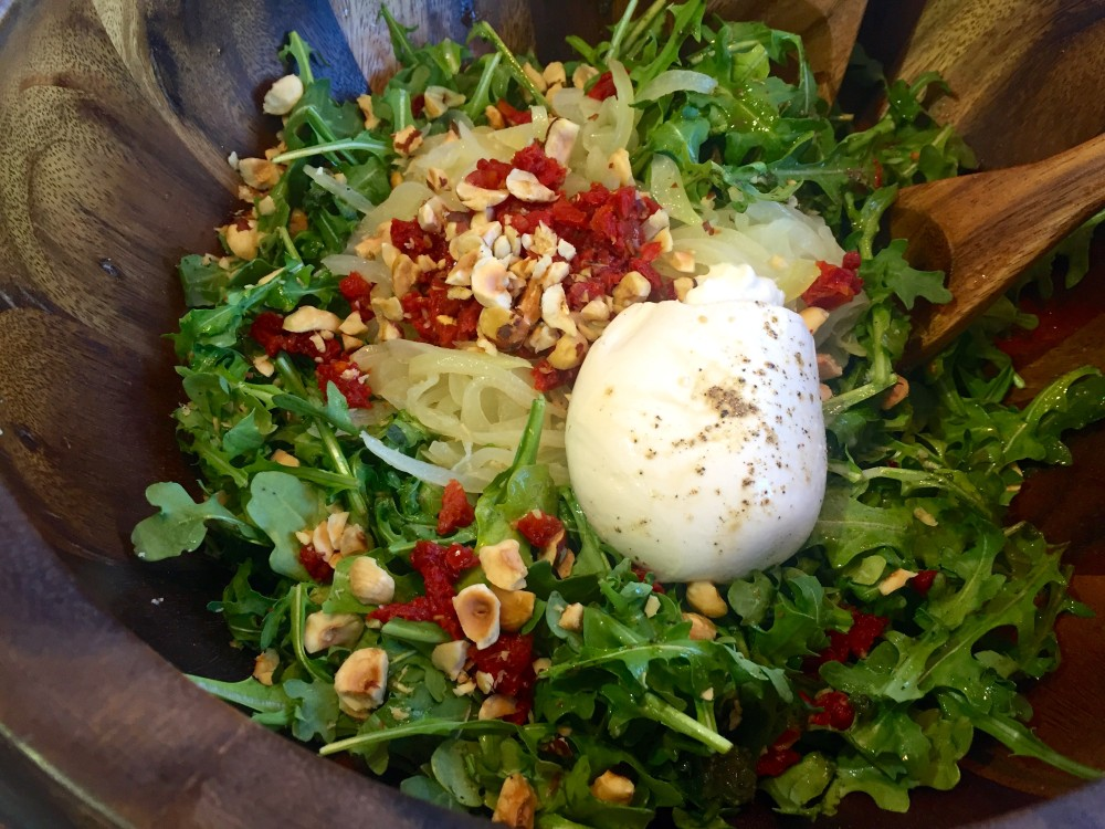 Pitfire Burrata Pizza Salad