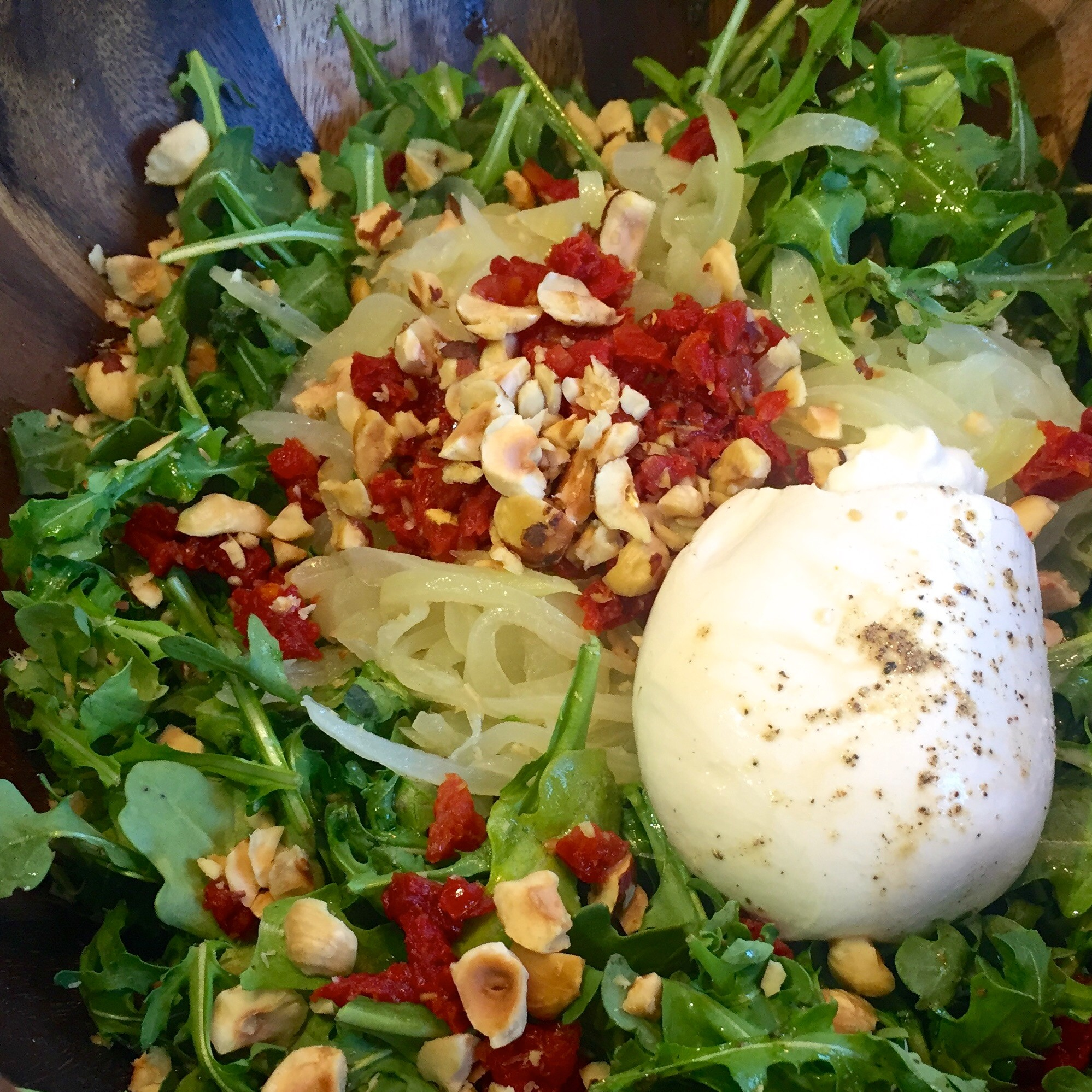 Pitfire Burrata Pie Pizza Salad